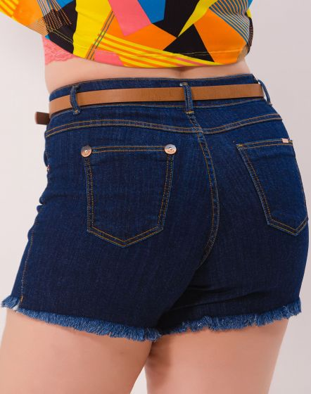SHORT JEANS BLUE BLACK