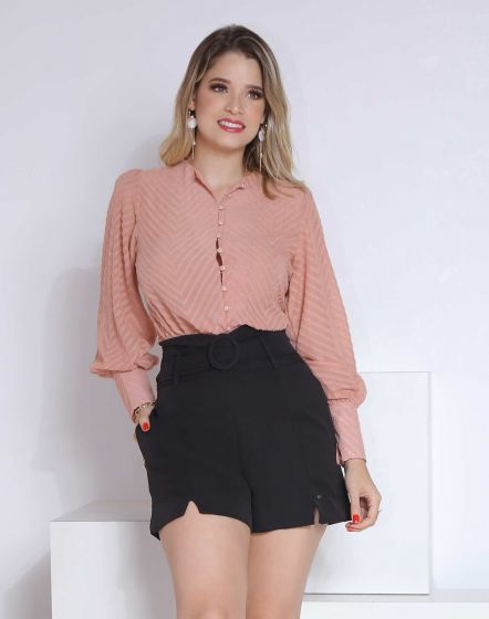 SHORT HOT PANT DE CREPE